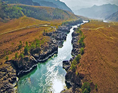 Fly Along The Katun river