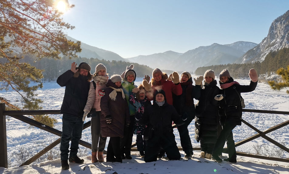 Winter tour in Altai «Siberian holidays»