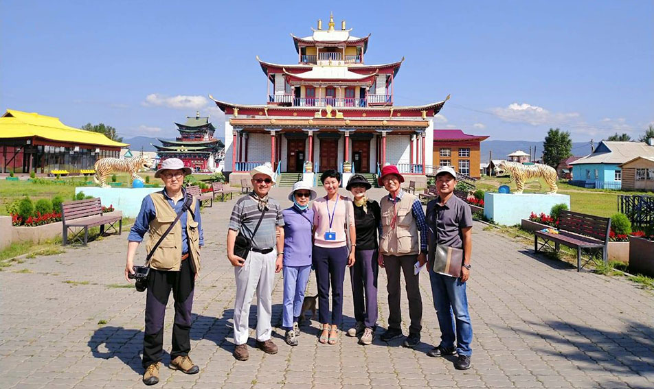 Ivolginsky Datsan is a part of Ulan-Ude city tour